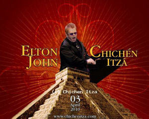 Sir Elton John to Perform Concert at one of the Seven Wonders of the World