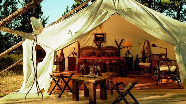 Suite Dreams Luxury Tented Suites At Montana S Paws Up Resort