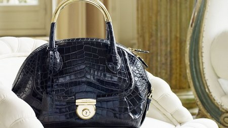 Salvatore Ferragamo Introduces New Bag, Fiamma
