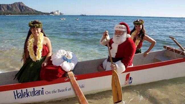 Holiday Festivities in Honolulu