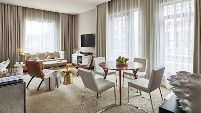 Luxury Boutique Quin Hotel in NYC Opens Capstone 17th Floor