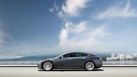 Experience a Tesla Model S During Your Stay at Mandarin Oriental, Washington DC