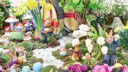 Easter Eggs, Peter Rabbit and Bunnies at The Peninsula New York