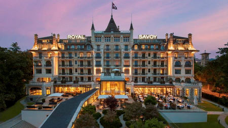 Lausanne's Hotel Royal Savoy Officially Re-opens