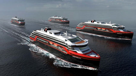 Hurtigruten Reveals Itineraries & Details for New Hybrid Expedition Ships