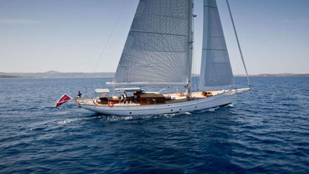 106' Sailing Yacht Emmaline For Charter