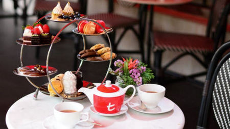 High-End Hotels Renew Interest in High Tea After High Noon