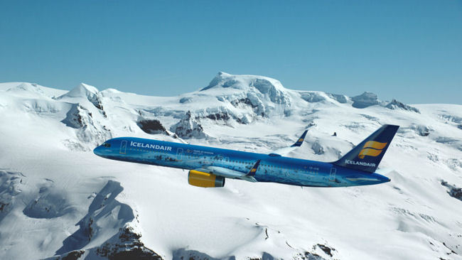 Is this the Coolest Plane Ever? Icelandair Launches World's First Glacier Plane