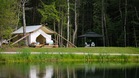 Whispering Springs Wilderness Retreat, New Glamping Destination near Toronto