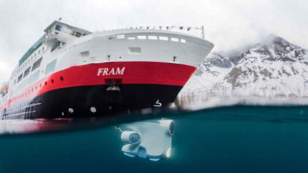 Hurtigruten Expedition Ships Introduce Underwater Explorer Drones