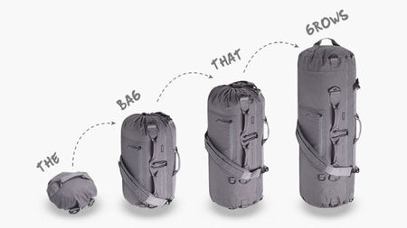 Introducing The Adjustable Bag - The world's most versatile multi-size bag