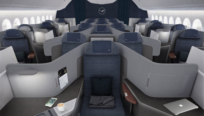 Lufthansa Reveals its New Business Class Concept