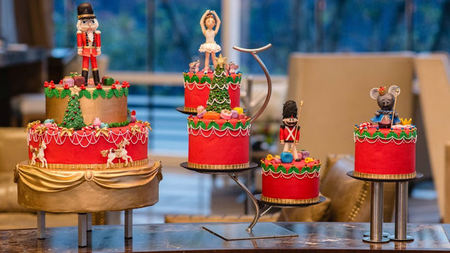 The St. Regis Mexico City Debuts Christmas Nutcracker Tea Ritual