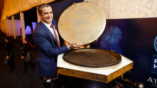 The World Record for Largest Tin of Caviar Just Set in Dubai