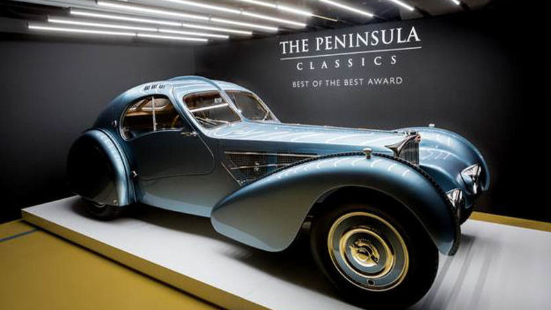 Bugatti Wins The Peninsula Classics Best of the Best Award