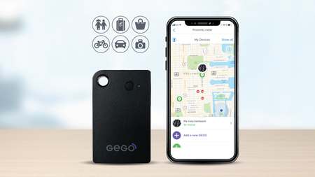 GEGO Universal Tracker - Track Anything that's Important to You