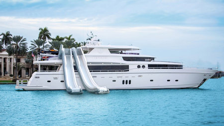 Splash into the Bahamas on Superyacht Julia Dorothy