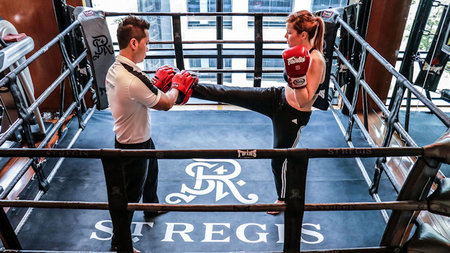 St. Regis Bangkok Offers NEW Thai Boxing Program