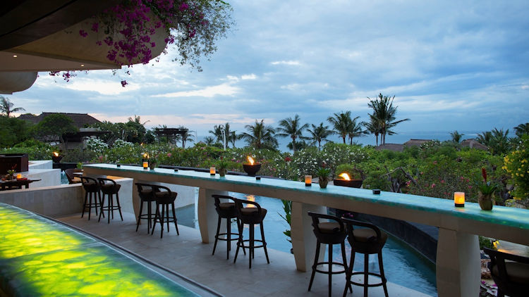 Martini Bar at The Villas at AYANA Named One of World's Best Hotel Bars
