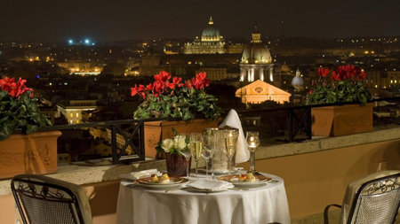 Hotel Hassler Roma Offers Rooftop Imago Experience at Reduced Rate