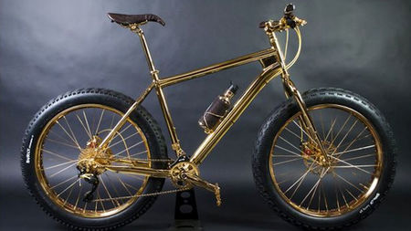 24k Gold-Plated Extreme Mountain Bike for Sale at $1 Million to Help Humanitarian Nonprofits