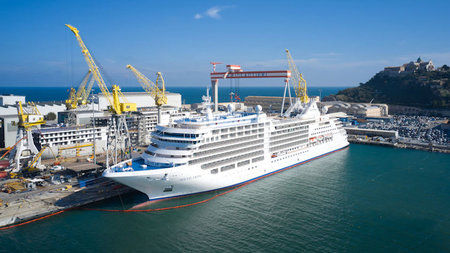 Silversea Cruises Takes Delivery of New Ship Silver Moon