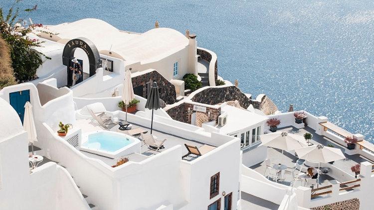 Santorini villas bu