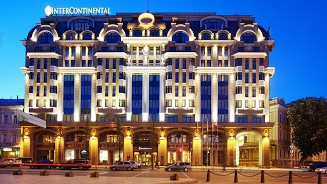 InterContinental Kiev Opens in Ukraine's Historic Capital