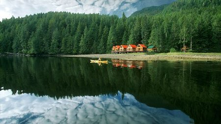 British Columbia's Nimmo Bay Wilderness Resort Offers Wild-luxe Retreats
