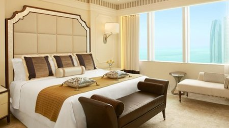 St. Regis Abu Dhabi Unveils World's Highest Suspended Hotel Suite