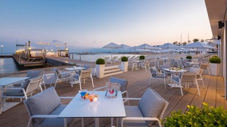Cannes' Hotel Majestic Barriere Unveils New Eco-friendly Private Beach