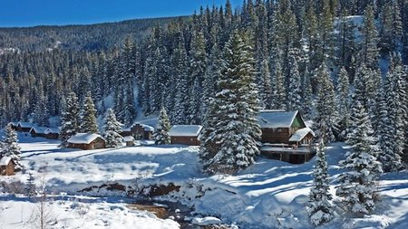 Get your New Year off to a festive start at Dunton Hot Springs