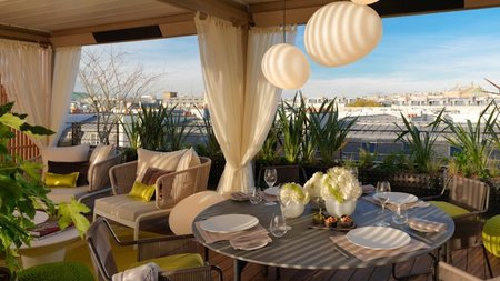 A New Parisian Terrace for the Suite Royale Orientale at Mandarin Oriental Paris