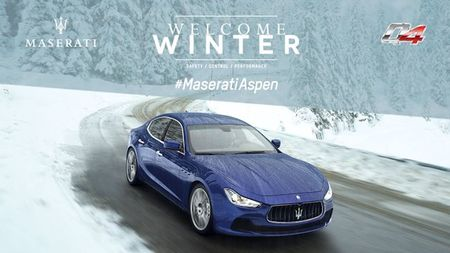 Maserati Drives Into Aspen for Month Long Installation