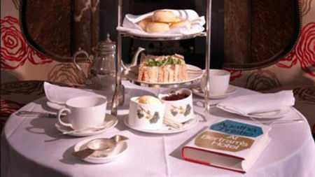 Agatha Christie Afternoon Tea at Brown's Hotel