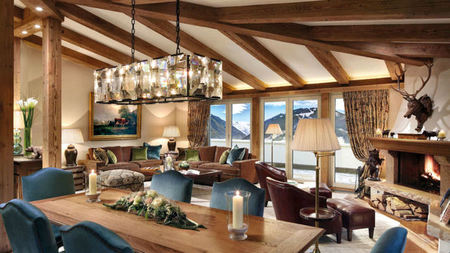 Gstaad Palace Completely Redesigns Penthouse Suite