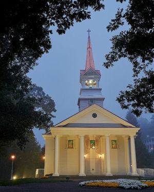 The Greenbrier Chapel Officially Opens with Wedding Ceremony of Owner James C. Justice's Daughter