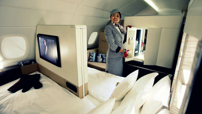 5 Most Luxurious Airplane Suites