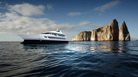 Ecoventura's New Yacht MV Origin Sets Sail in the Galapagos Islands