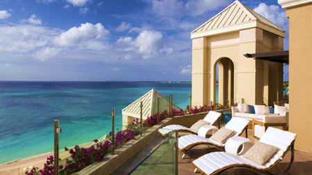 Largest Luxury Hotel Suite in the Caribbean at The Ritz-Carlton, Grand Cayman