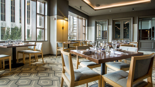 Hot New Private Dining Space in Chicago at Fairmont Millennium Park