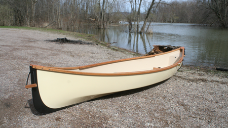 Adirondack Guideboat Handcrafts 34lb Ultra-Light Solo Packboat for Individual Adventurers