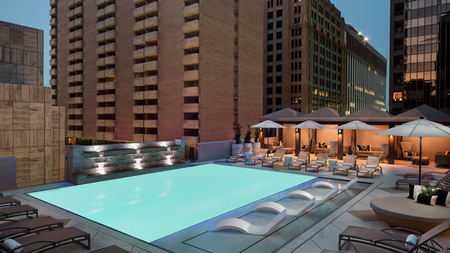 The Adolphus Debuts New Rooftop Pool and Bar