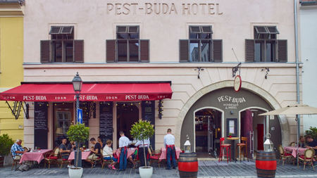 Pest-Buda, Hungary's Oldest Hotel Opened in 1696 Just Reopened