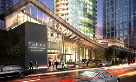 Trump International Hotel & Tower Vancouver to Open this Fall
