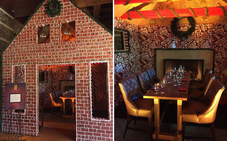 Dine Inside a Gingerbread House at The Ritz-Carlton, Dove Mountain
