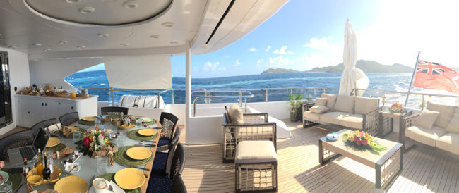 Fun in the Sun on Superyacht BINA