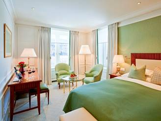 Grand Hotel Kronenhof Unveils New Guestrooms by Pierre-Yves Rochon