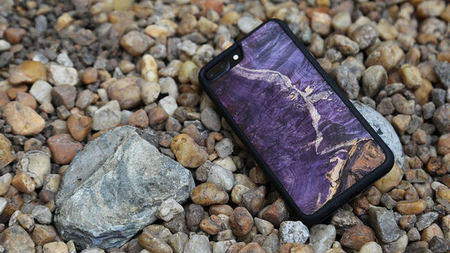 WUDlife - One-of-a-Kind Real Wood & Rock Phone Cases