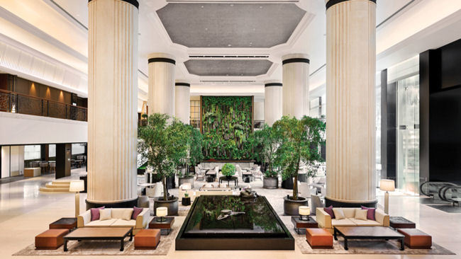 Find Tranquility in Shangri-La Hotel, Singapore's Nature-Inspired Tower Wing
